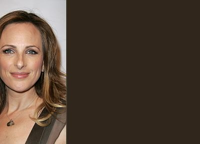 women, Marlee Matlin - desktop wallpaper