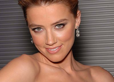 women, Amber Heard - desktop wallpaper