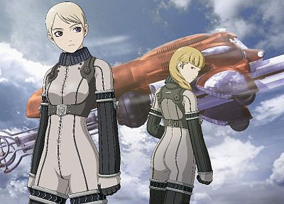 Last Exile - random desktop wallpaper