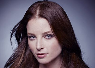women, blue eyes, actress, models, Rachel Nichols - desktop wallpaper
