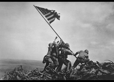 World War II, historic, Iwo Jima - random desktop wallpaper