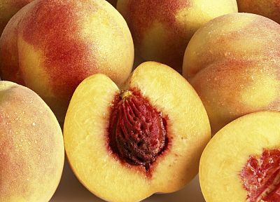 fruits, peaches, nectarines - desktop wallpaper
