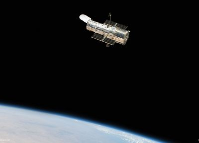Hubble, spacecraft - random desktop wallpaper