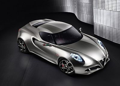 cars, Alfa Romeo, concept cars, Alfa Romeo 4C - desktop wallpaper