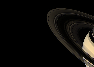 outer space, Solar System, planets, digital, rings, Saturn - related desktop wallpaper
