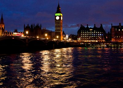cityscapes, London, buildings, Big Ben - random desktop wallpaper