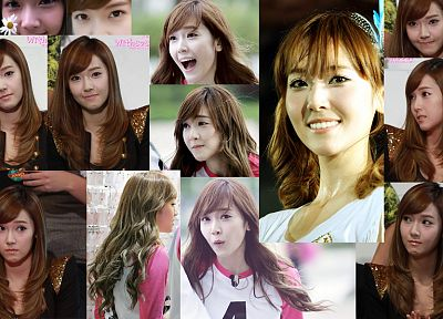 Girls Generation SNSD, Jessica Jung, collage, K-Pop - random desktop wallpaper