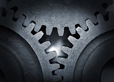gears, cogs - random desktop wallpaper