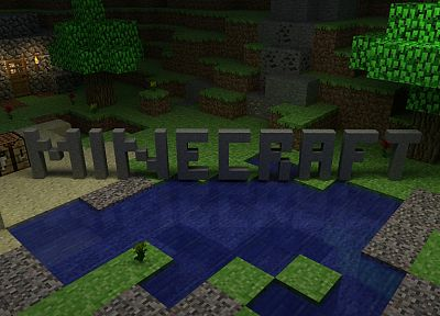 Minecraft - related desktop wallpaper