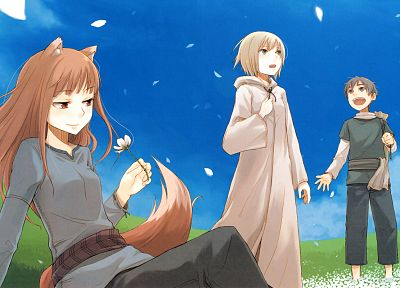 Spice and Wolf, anime - random desktop wallpaper