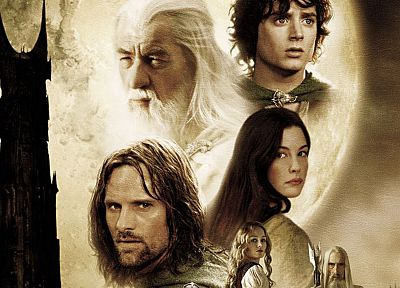 movies, Gandalf, Liv Tyler, The Lord of the Rings, Aragorn, Viggo Mortensen, Elijah Wood, Ian Mckellen, Saruman, Arwen Undomiel, Eowyn, The Two Towers, Frodo Baggins - related desktop wallpaper