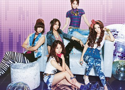 women, Asians, K-Pop, Kara (band) - random desktop wallpaper