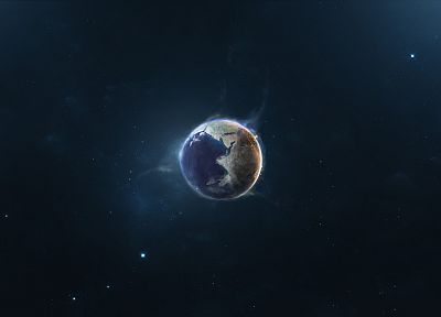 outer space, planets - random desktop wallpaper