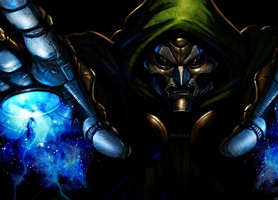 Dr. Doom, villians, Marvel Ultimate Alliance - random desktop wallpaper