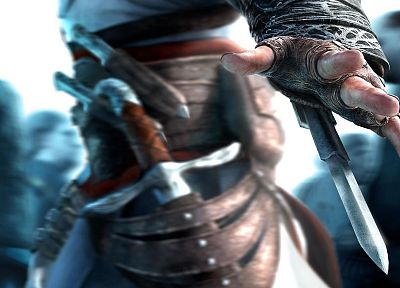 video games, Assassins Creed, Altair Ibn La Ahad - random desktop wallpaper