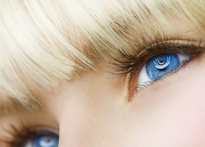 blondes, women, blue eyes, faces - random desktop wallpaper