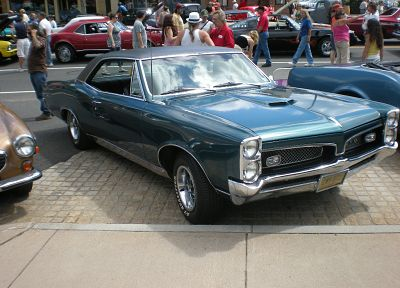 cars, muscle cars, Pontiac GTO - desktop wallpaper