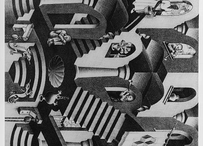 MC Escher - random desktop wallpaper
