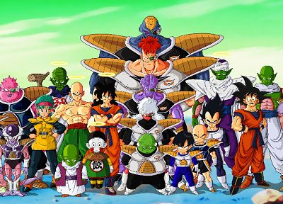 Vegeta, Son Goku, Frieza, anime, Son Gohan, Piccolo, Dragon Ball Z, Dragon Ball - related desktop wallpaper