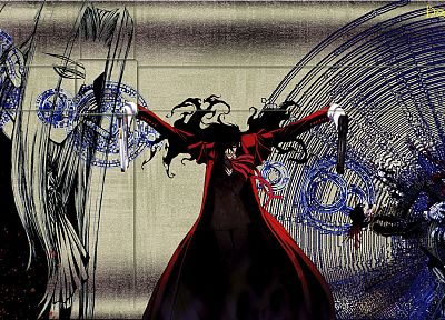 dark, Hellsing, Alucard, emo, Gothic, vampires - related desktop wallpaper