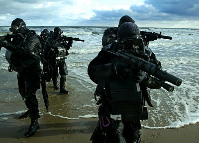 soldiers, army, military, Polish Army, GROM, Polish special forces - desktop wallpaper