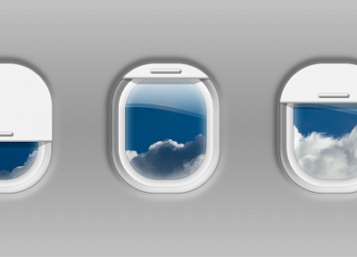 aircraft, vehicles, window panes, skyscapes - related desktop wallpaper