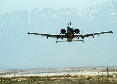 aircraft, military, take off, planes, vehicles, A-10 Thunderbolt II - random desktop wallpaper
