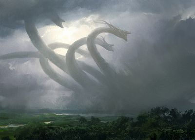 Magic: The Gathering, Hydra, progenitus - random desktop wallpaper