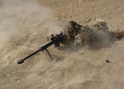 soldiers, army, military, snipers, Barrett M107, ghillie suit - related desktop wallpaper