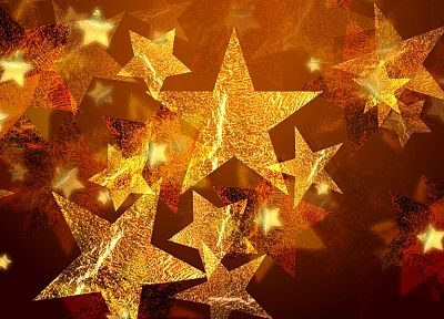stars, Christmas - desktop wallpaper