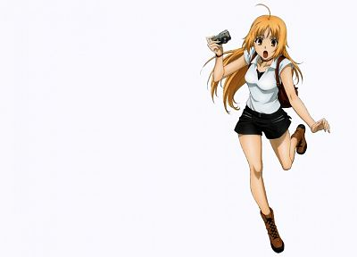Canaan, simple background, white background, Oosawa Maria - desktop wallpaper