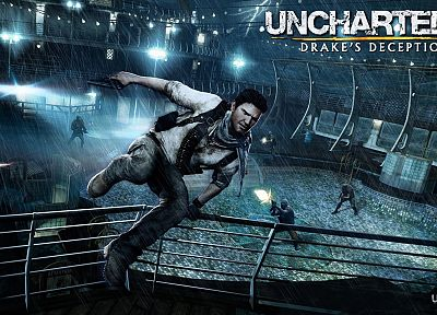 video games, Uncharted, Nathan Drake, Uncharted 3 - related desktop wallpaper