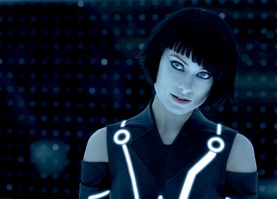 movies, models, Olivia Wilde, Tron, Tron Legacy, Quorra - related desktop wallpaper