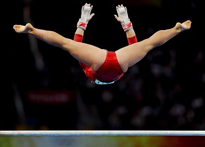 Shawn Johnson, gymnastics - related desktop wallpaper