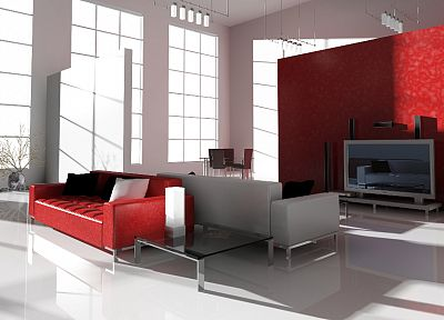 red, room, interior, furniture, Bulgaria - related desktop wallpaper