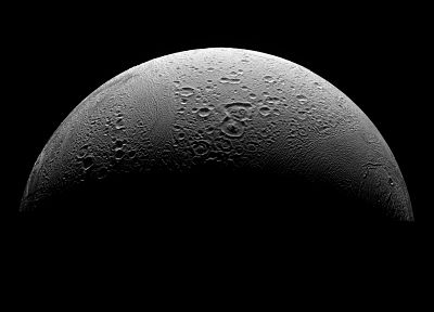 Moon, Enceladus - random desktop wallpaper