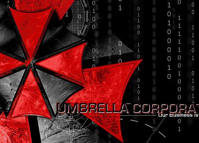 Resident Evil, Umbrella Corp. - desktop wallpaper