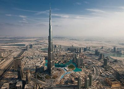 cityscapes, buildings, Dubai, Burj Khalifa - desktop wallpaper