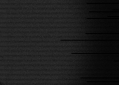 black, Serial Experiments Lain, multiscreen - random desktop wallpaper
