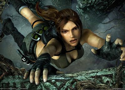 video games, Tomb Raider, Lara Croft, 3D - random desktop wallpaper