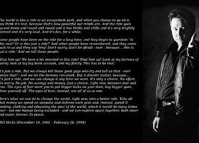 Bill Hicks - random desktop wallpaper