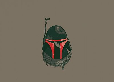 Star Wars, movies, Boba Fett, beard - desktop wallpaper
