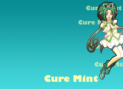 Pretty Cure, simple background - desktop wallpaper