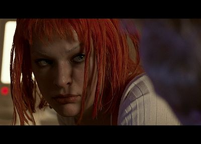 actress, Leeloo, The Fifth Element, Milla Jovovich - desktop wallpaper