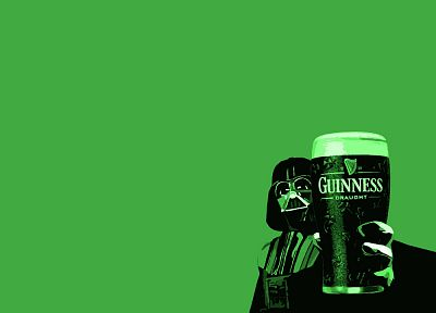 beers, green, Star Wars, Guinness, Darth Vader - random desktop wallpaper