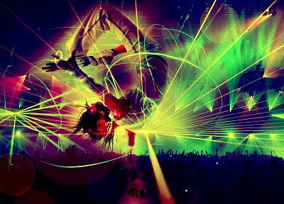 party, dance, psychedelic, rave - desktop wallpaper