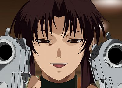 Black Lagoon, Revy - desktop wallpaper