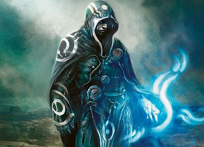 Magic: The Gathering, fantasy art, artwork, Jace Beleren, mtg, Planeswalker - related desktop wallpaper