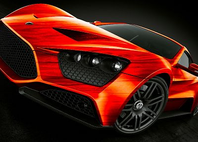 cars, supercars, Zenvo ST1, front angle view - popular desktop wallpaper