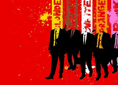 Reservoir Dogs, simple background, colors - desktop wallpaper